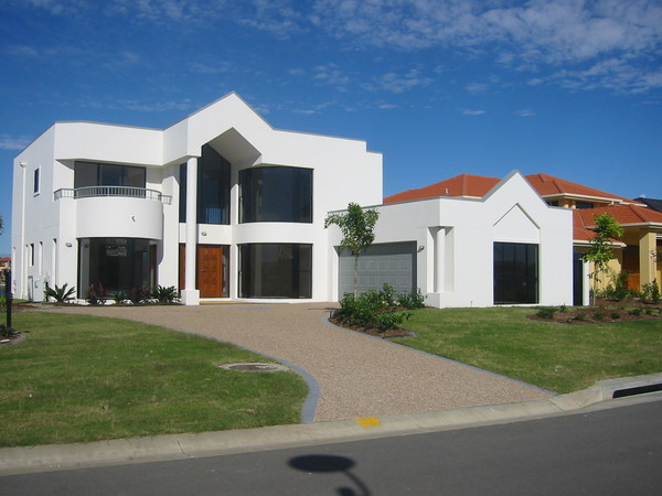 Beautiful Sloping Block House Design Gold Coast