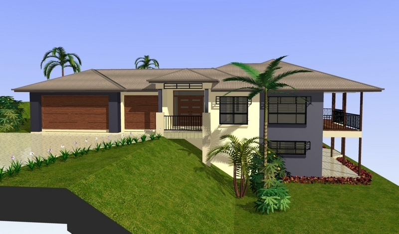 Sloping block home designs gold coast unique homes Floor plans for sloping blocks