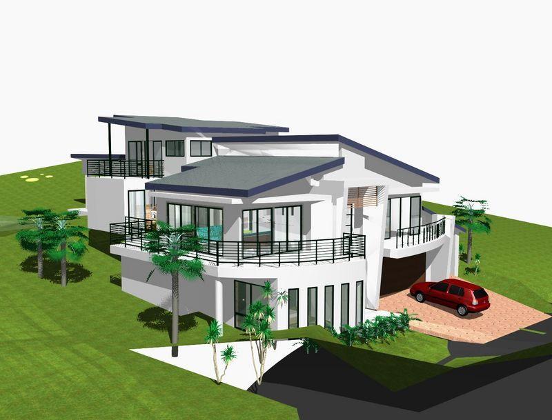 sloping block home designs 1