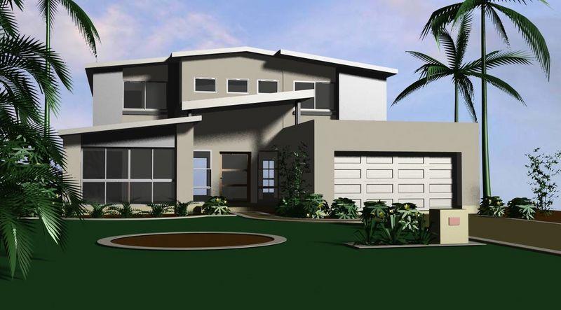 sloping block home designs 5