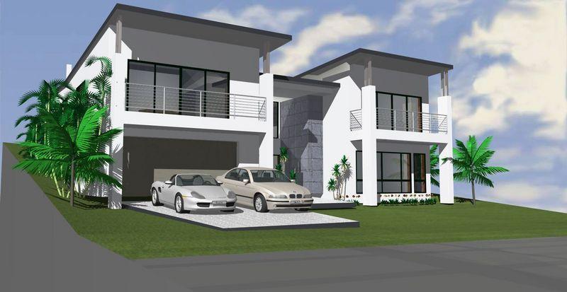sloping block home designs 7