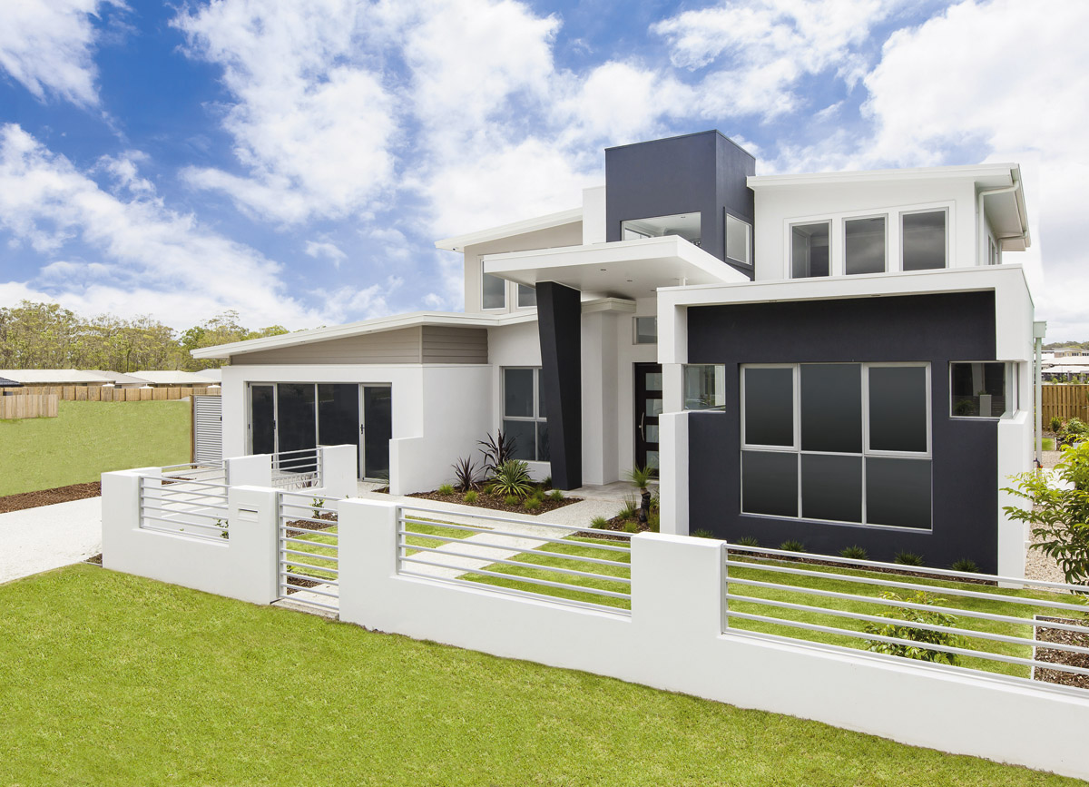 sloping block home designs gold coast